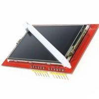 """LCD TFT Module 2.4"""" 320x240 pixel Hi-Contrast Header Kuning"""