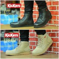 Kickers Boot  / Sepatu Boot Kulit / Sepatu Boot Trendy / Sepatu Kulit