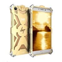 harga Oppo F1 Plus Gold Transformer Flash Bumper Iron Case Anti Shockproof Tokopedia.com