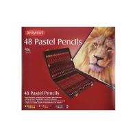 DERWENT Pastel Pencils 48 Wooden Box