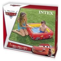 Kolam Renang / Bak Mandi Baby Cars Play Box Pool - INTEX  #57101
