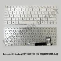 Keyboard ASUS Vivobook S200E X201 S200 X200 Q200 X201E X202 - Putih