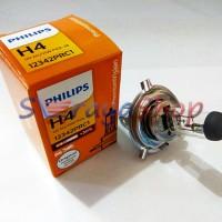 Jual Lampu Halogen H4 12V 60/55W Philips Murah