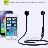 harga Headset Bluetooth Fine Blue Mate 7 Mini Stereo Earphone Wireless Tokopedia.com