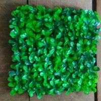 rumput sintetis melia kotak bunga plastik artificial