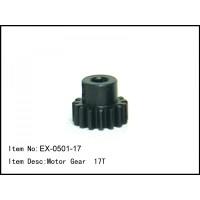 EX-0501-17 Motor Gear 17T mod1 Shaft 5mm Baja