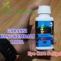 Obat Ablasio Retina / Retina Lepas 100% Herbal Eye Care Softgel Asli