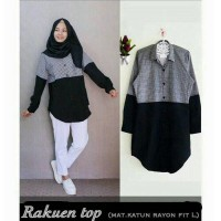 baju hijab Update / Blouse rakuen top / Pusat Fashion Grosir Termurah