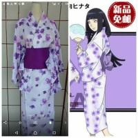 harga yukata/kimono/baju adat jepang/costum cosplay/Hinata hyuga Tokopedia.com