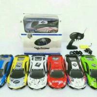 Mobil Rc Drift Car - Lamborghini Body Metal skala 1:16