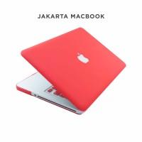 Jual Case Macbook Pro 15 Inch Red Matte Murah