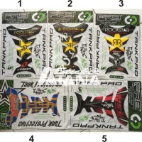 Tankpad Protector Sticker RR RockStar YSS Suspension Racing Otomotif