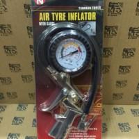 Tire Inflator Air Pressure Gun Unkuran Angin