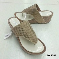 Sandal Wedges Import By Calbi JDX 1291