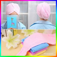 harga Magic Towel Hair Wrap (Handuk Rambut Penyerap Air) Tokopedia.com