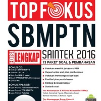 Top Fokus Sbmptn Saintek 2016 - Bonus Cd & Aplikasi Android