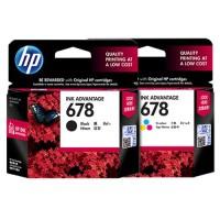 Tinta Hp 678 Black Original, Dealer Resmi HP 678 Black U/ Printer 1515