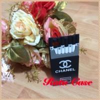 Case 3D Rokok/cigarette Chanel Iphone 5/5S/5C/5SE