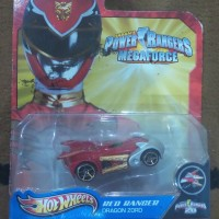 hot wheels power rangers ' megaforce