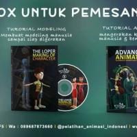 DVD tutorial animasi 3D