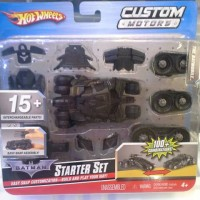 Hot Wheels Custom Motors - Batman Tumbler Black Version Starter Set