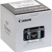 harga Lensa Fix Canon EF 50mm f/1.8 STM f1.8 Bonus Filter UV Garansi 1 Tahun Tokopedia.com