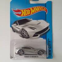 Hotwheels Ferrari F12 Berlinetta Silver