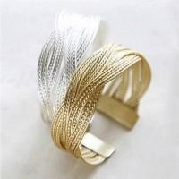 Gelang Kepang Korean Retro Twist Bangles Bracelet