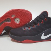 803c75f2db4f SEPATU BASKET NIKE HYPERDUNK 2016 LOW BLACK RED