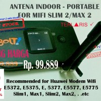 Jual ANTENA INDOOR PORTABLE FOR MODEM WIFI BOLT 4G SLIM2 MAX 2 HUAWEI E5577 Murah