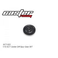 SCT-023 CASTER RACING Center Diff Spur Gear SCT 1/10 RC Car 56T