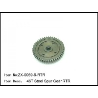 ZX-0059-6-RTR CASTER RACING 46T STEEL SPUR GEAR 1/8 Buggy RC Car