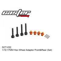 Rc Car accesories SCT 1/10 17MM Hex Wheel Adaptor Front&Rear (Set)