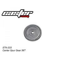 STK033 CASTER RACING Center Spur Gear Truggy 1/10 RC Car 56T