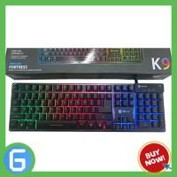 Jual Keyboard Gaming Rexus K9 Fortress - Semi Mechanical Murah