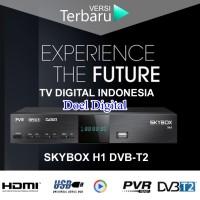Receiver/Dekoder Siaran TV Digital Skybox - Gtratis Biaya Bulanan, Kualitas gambar Setara TV Kabel & Parabola