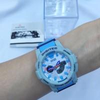 harga Jam Tangan Digitec DG2099 Blue Grey Biru Dual Time Tokopedia.com
