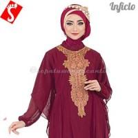 Baju Muslim Wanita Gamis Lebaran 2016 Terbaru Hycone SN MURAH