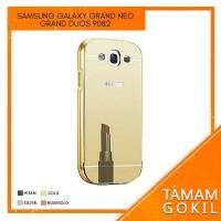 Case Mirror Samsung Galaxy Grand 2 G7106 G 7106 Alumunium Bumper