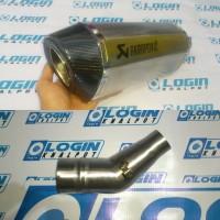 Knalpot Yamaha R25 Dan Mt25 Knalpot Slip On Akrapovic Layang Titan