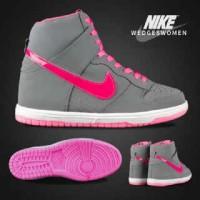 harga sepatu casual sneakers hi main gaya kuliah wanita nike sky dunk wedges Tokopedia.com
