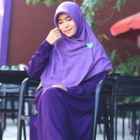 harga Gamis Ayumi Ungu /Hijab Alila Tokopedia.com