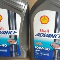 Oli motor terbaik teknologi tinggi Shell Advance Ultra 10W-40 SN/MA2