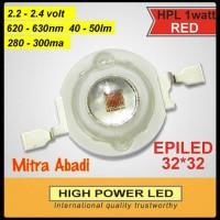 HPL 1 Watt EPILED Red/Merah 32x32 280-300 mA