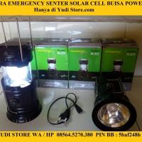 Jual LENTERA SENTER/LENTERA SOLAR CELL/LENTERA POWERBANK/LAMPU EMERGENCY Murah