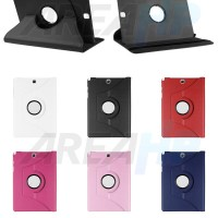 Samsung Galaxy Tab S2 9.7 Rotary Leather Flip Case Cover Sarung Kulit