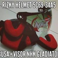 harga Busa helm, Kaca visor helm nhk gladiator original Tokopedia.com