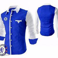 The Blues Executive Chelsea Kemeja / Hem Pria Slim Fit Grosir Mu O1OR