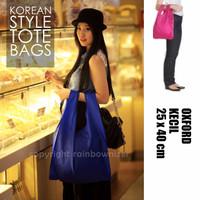 Tas Belanja Lipat Baggu Waterproof Kecil Tote Shopping Bag Promo A6S1