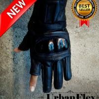 Jual URBANflex sarung tangan kulit asli garut pengendara motor Murah